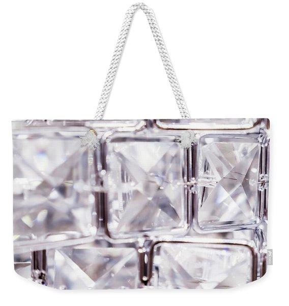 Crystal Bling V Weekender Tote Bag