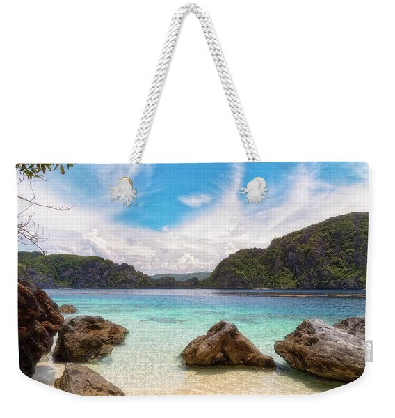 Crystal Clear Weekender Tote Bag