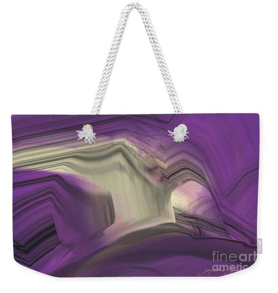 Crystal Journey Weekender Tote Bag