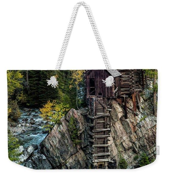 Crystal Mill Weekender Tote Bag