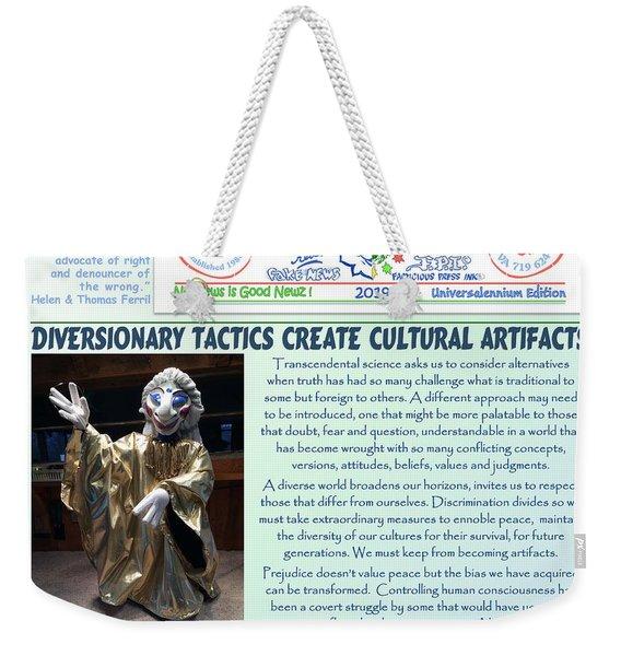 Cultural Artifacts Weekender Tote Bag