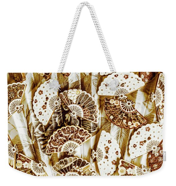 Cultural Costume Craft Weekender Tote Bag