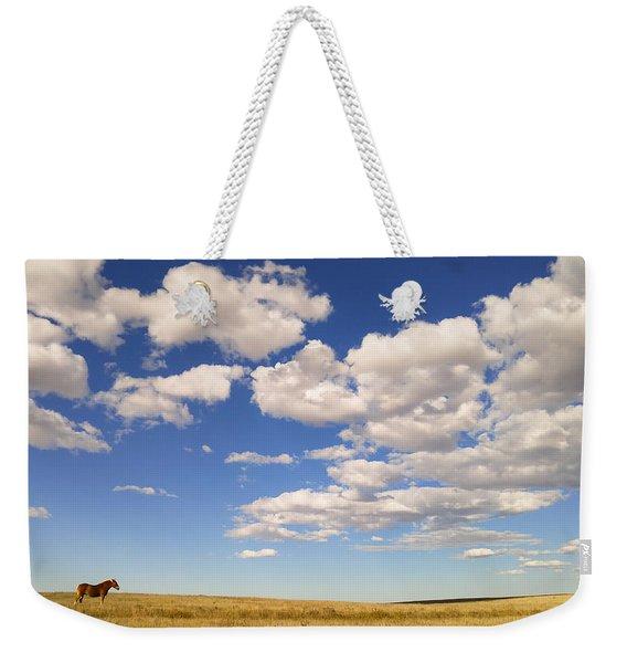 Cumulus Weekender Tote Bag