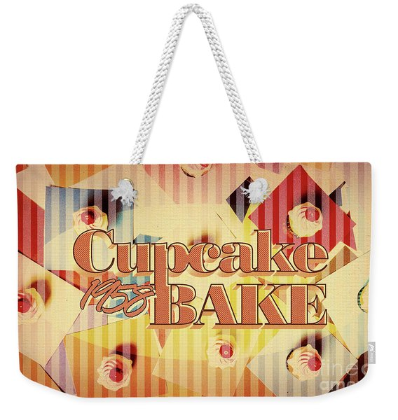Cupcake Bake 1958 Weekender Tote Bag