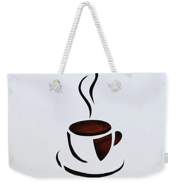Cuppa Weekender Tote Bag