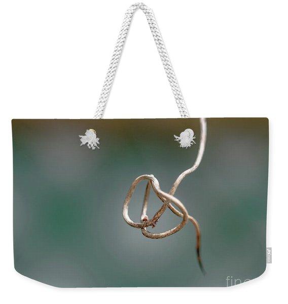Curly Q Weekender Tote Bag