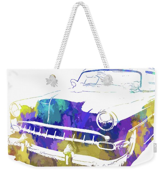 Custom 1954 Chevy Abs Inv Weekender Tote Bag