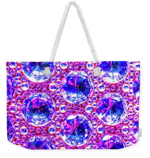 Cut Glass Beads 4 Weekender Tote Bag