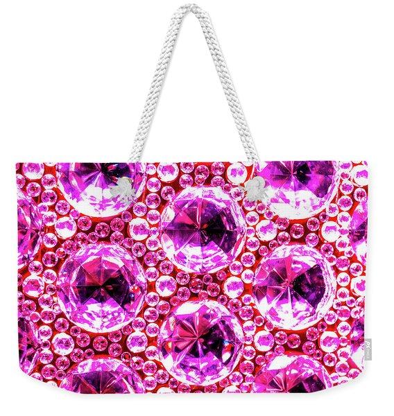Cut Glass Beads 6 Weekender Tote Bag