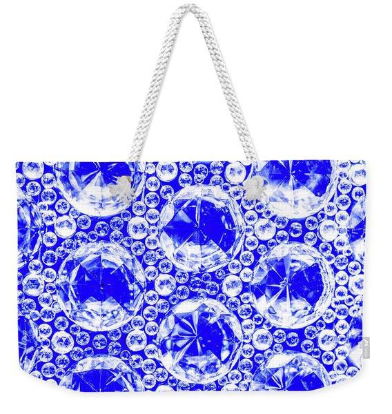 Cut Glass Beads 1 Weekender Tote Bag