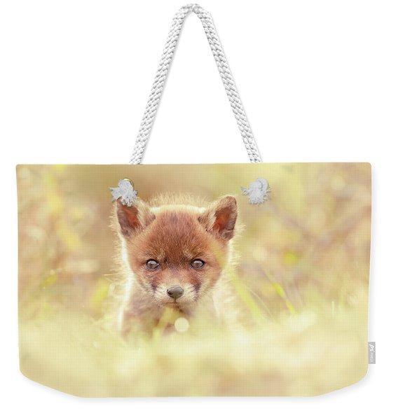 Cute Overload Series - Baby Fox Weekender Tote Bag