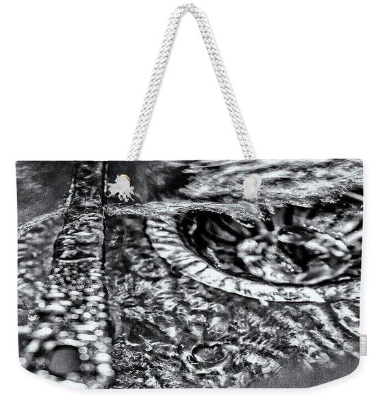 Cutlery Tsunami Weekender Tote Bag