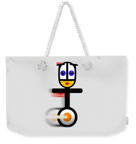 Cycle Babe Weekender Tote Bag