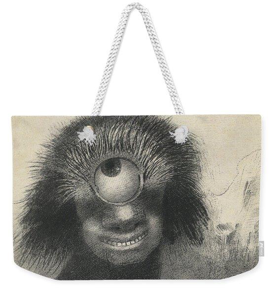 Cyclops Weekender Tote Bag