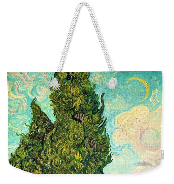 Cypresses - Digital Remastered Edition Weekender Tote Bag