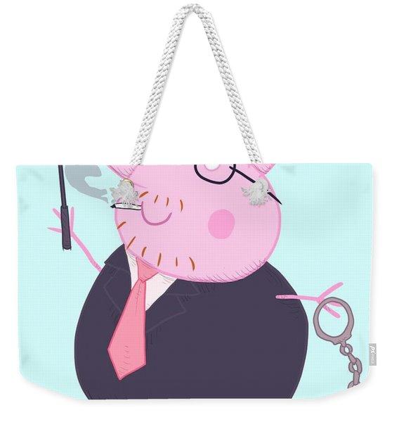 Daddy Pig Weekender Tote Bag
