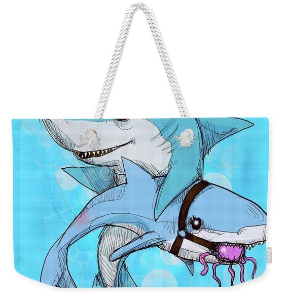 Daddy Shark Weekender Tote Bag