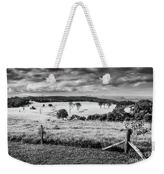 Dahmongah Lookout, Mount Mee Weekender Tote Bag