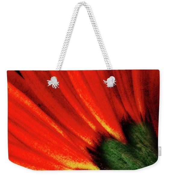 Daisy Aflame Weekender Tote Bag