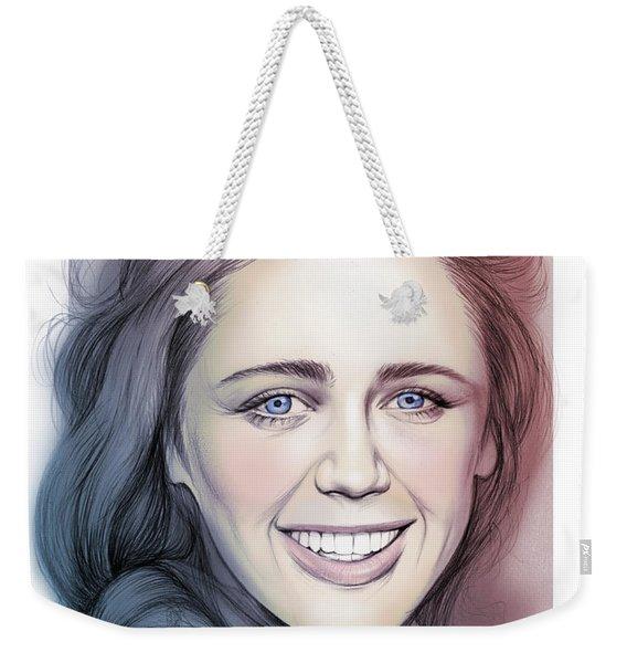 Daisy Head Weekender Tote Bag