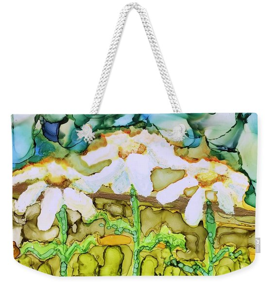 Daisy Impressions Weekender Tote Bag
