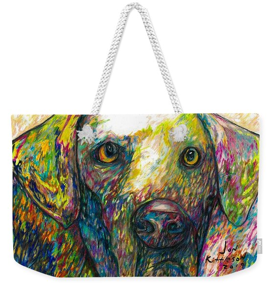 Daisy The Dog Weekender Tote Bag