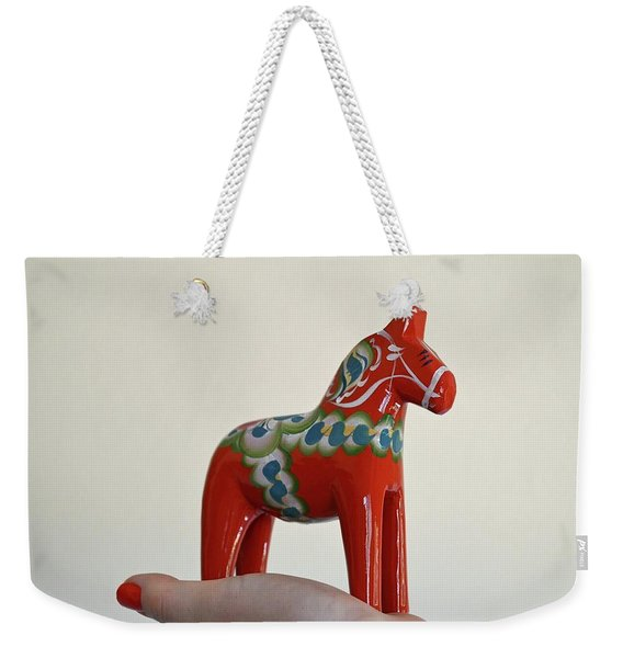 Dala Horse Weekender Tote Bag