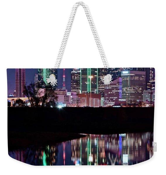 Dallas Lights Weekender Tote Bag