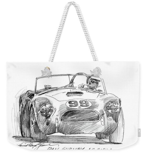 Dan Gurney Ac Cobra No. 99 Weekender Tote Bag