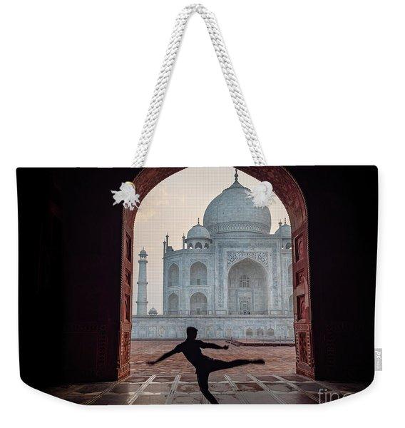 Dancer At The Taj Weekender Tote Bag
