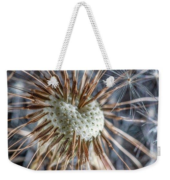 Dandelion Seed Head Weekender Tote Bag