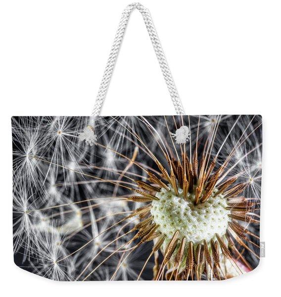 Dandelion Seed Pod Weekender Tote Bag
