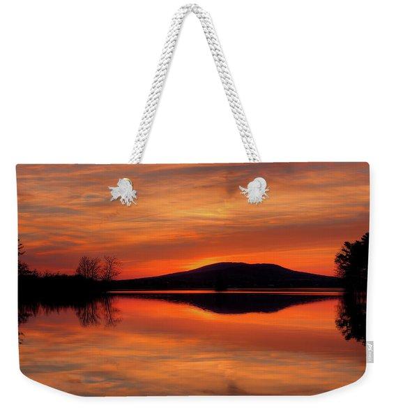 Dan's Sunset Weekender Tote Bag
