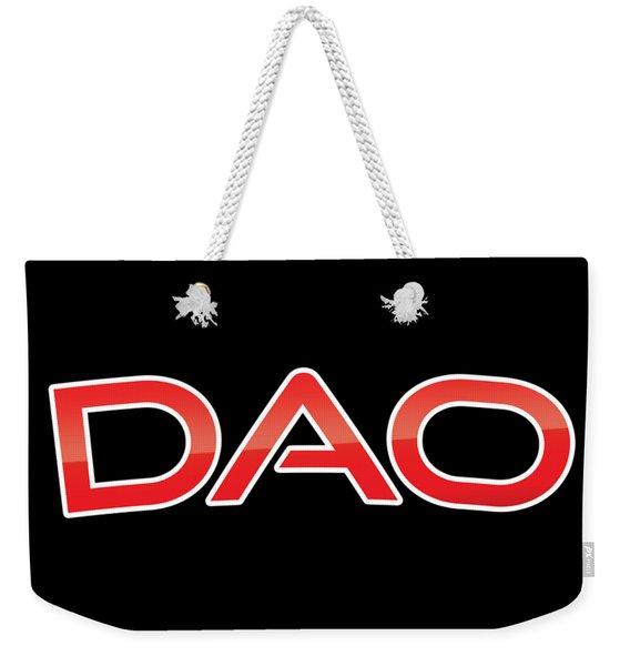 Dao Weekender Tote Bag