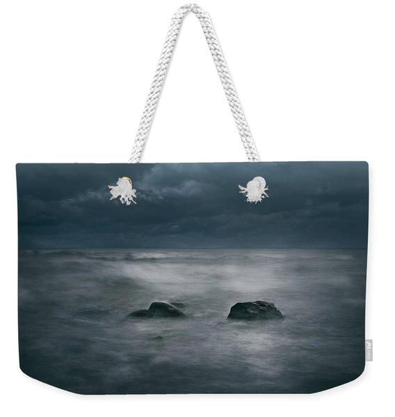 Dark And Stormy Weekender Tote Bag