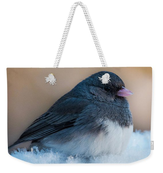 Dark-eyed Junco Weekender Tote Bag
