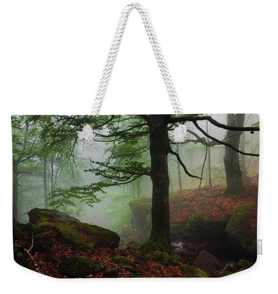 Dark Forest Weekender Tote Bag