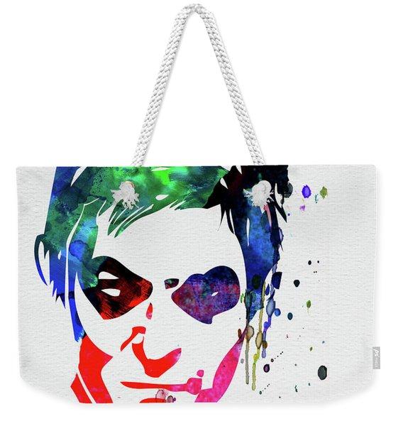 Daryl Watercolor II Weekender Tote Bag