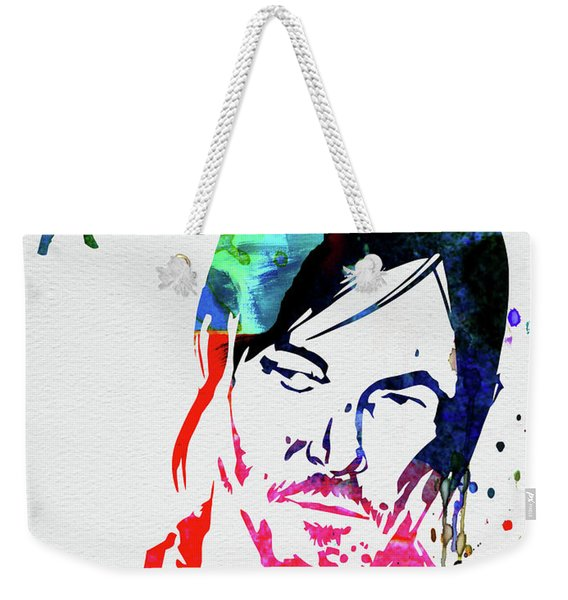 Daryl Watercolor Weekender Tote Bag