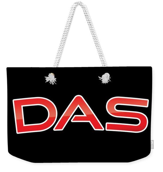 Das Weekender Tote Bag