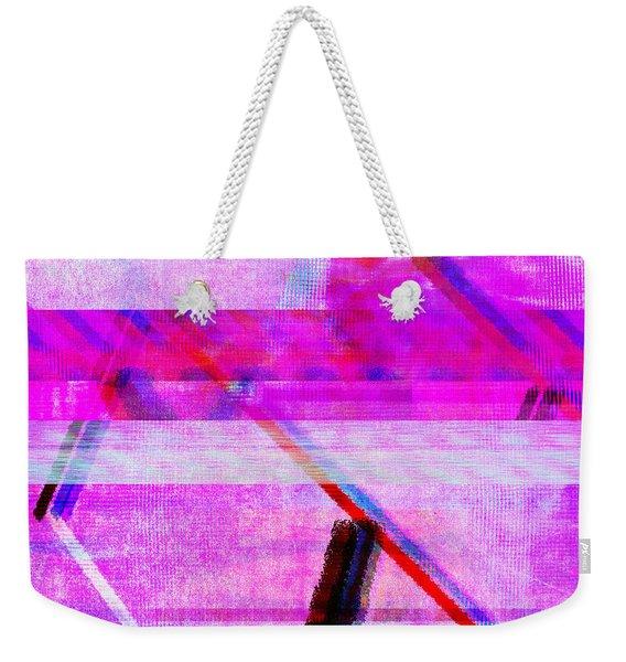 Databending #1 Weekender Tote Bag