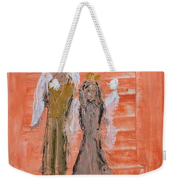 Dating Angels Weekender Tote Bag