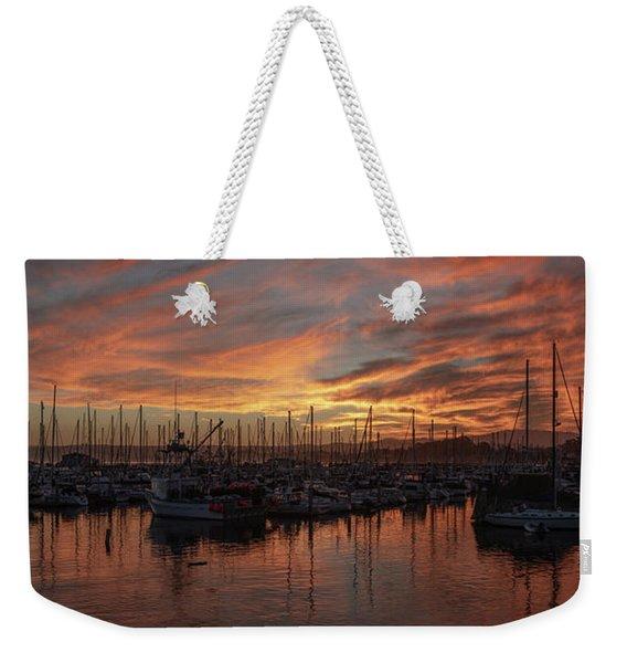 Dawn Monterey Bay California Weekender Tote Bag