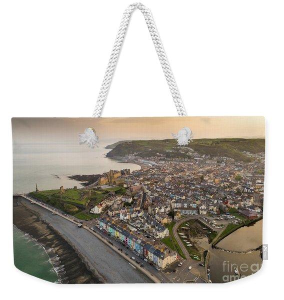 Dawn Over Aberystwyth Wales Weekender Tote Bag