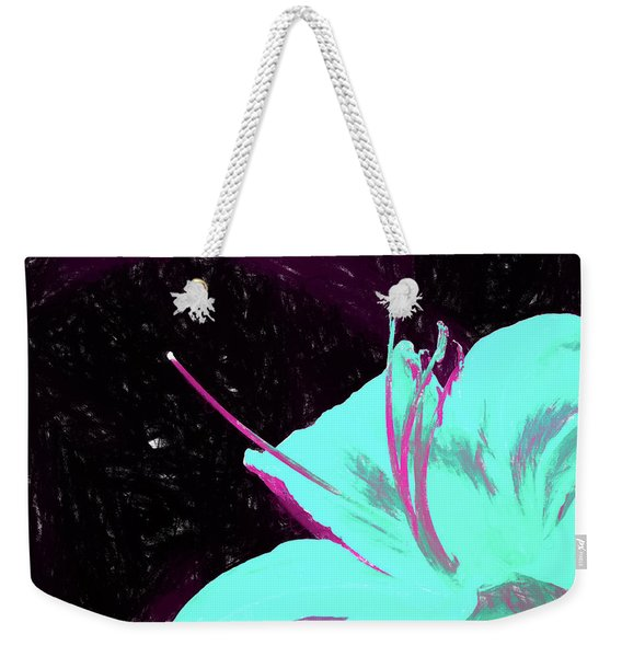 Day Lily Dual Tone  Weekender Tote Bag