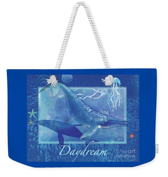 Daydream Whales Weekender Tote Bag
