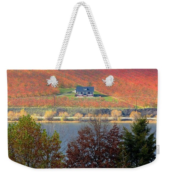 Days Of Autumn 26 Weekender Tote Bag