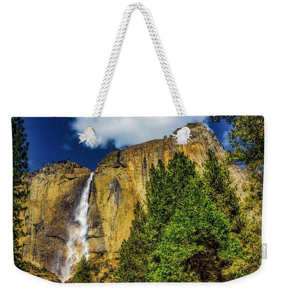 Dazzling Yosemite Falls Weekender Tote Bag