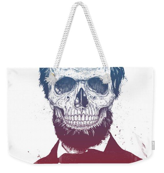 Dead Lincoln Weekender Tote Bag