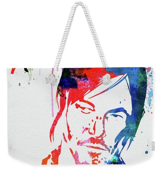 Dead Watercolor Weekender Tote Bag